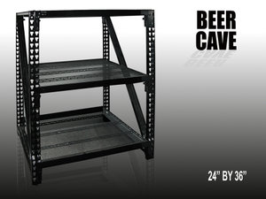 Beer Cave Shelving